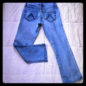 Delia's Bailey 1/2 low- rise straight-leg Jeans